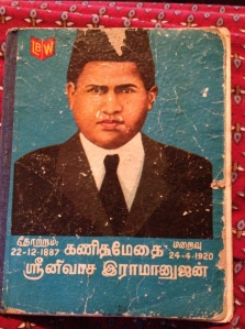 Ramanujam Centenary celebration notebook
